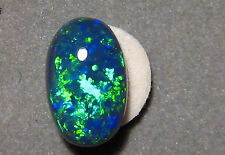 2.7 CTW.  Australian Black Opal Lightning Ridge Blue & Green  Gem