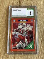 1989 Pro Set Barry Sanders Rookie Card #494 *CSG 9 MINT* PSA 9 Lions HOF 👀📈🔥