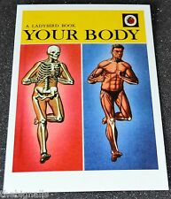 Ladybird Book Cover Postcard YOUR BODY new