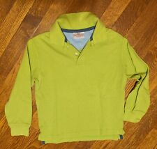 Boys, Hanna Andersson Size 7/8Y (120) Green, Long Sleeve Shirt