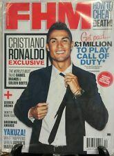 FHM International December 2015 Cristiano Ronaldo Cheat Death FREE SHIPPING sb