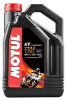 Motul 7100 Synthetic 4T Oil 10W60 4-Liter 104101