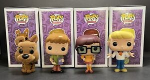 Funko Pop Vinyl SCOOBY-DOO 149 SHAGGY 150 VELMA 151 FRED 153 *No Box Inserts*