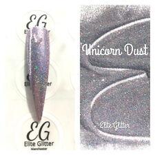 Nail Art Glitter Platinum Pink Unicorn Dust Holographic Ultra Fine 004 Festival