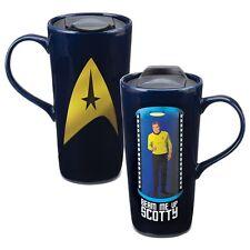 "Star Trek ""Beam Me Up"" Heat Reactive 20 oz. Ceramic Coffee/Travel Mug New!"