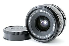 Canon New FD NFD 28mm F/2.8 Wide Angle MF Lens From Japan [Near Mint]