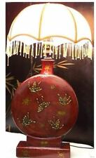 Red Classical Chinese Decoration Table Lamp New (LP-RO)