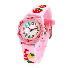 Kids Girls Waterproof Cartoon Silicone Wrist Watch Boy Girls Birthday Gift USA