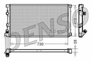 DENSO ENGINE COOLING RADIATOR FOR A RENAULT MASTER BUS 3.0 100KW
