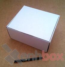 25 Cajas de cartón para envíos postales 20x18x10cm. Automontables Microcanal bla