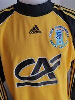 superbe  maillot de football n°16 gardien adidas coupe gambardella  99/2000