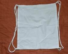 1 Turnbeutel, Beutel weiß, Baumwolle zum Bemalen , anmalen