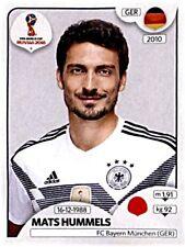 Panini Fifa World Cup 2018 Russia Sticker 435 Mats Hummels Deutschland Germany