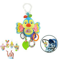 Baby Stroller Hanging Toy Plush Animal Rattle Bed Bell Infant Baby Rattle Toy