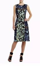 NWT Bcbg Max Azria Carbon Jolie Printed Lace Midi Cocktail/Party Dress size S