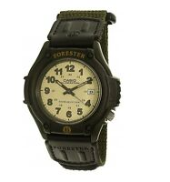 Casio Forester FT-500WC-3 Green New Mens Watch Analog Nylon Band FT-500 Light