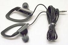 Panasonic In-Ear Water-Resistant Sport-Clip Buds Heaphones (Black) - Rp-Hs200-K