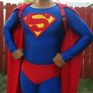 WIP 90's Superman Costume Dean Cain Lois and Clark Style Medium/Large Replica