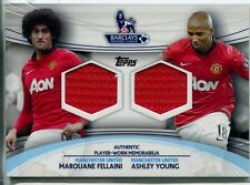 Topps Premier Gold Football 13/14 Dual Relic Card Fellaini & Young