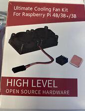 Ultimate Dual Cooling Fan Kit Module With Heatsink for Raspberry Pi 4B 3B+2B CA