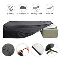 Waterproof Extra Large Garden Patio Furniture Cover Rattan Table Cube Outdoor
