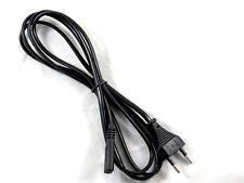 2 Prong EU Euro European Power Cord Play Station 2 3 Xbox Sega Saturn Gaming