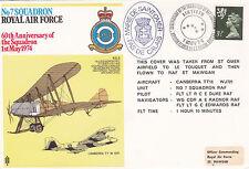 GB 1974 RAF 60th Anniv of 7 Squadron Formation Commemorative Cover