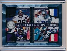 Woodson Sanders Reed Asomugha 2012 Totally Certified Game Used Quad Relic 2/25