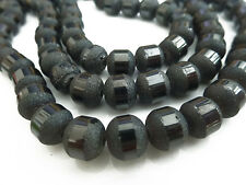 Environ 65 Stardust Perles De Verre Environ 7,3 mm Couleur: Anthracite Perles Spacer Nenad-Design