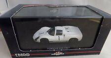 EBBRO 1/43 Porsche 910 LAUNCH MODEL 1967 White Diecast Car 43639 NEW IN BOX #1