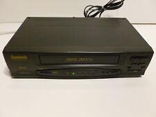 Symphonic 4 Head VCR VHS Model SL240A ~ no remote
