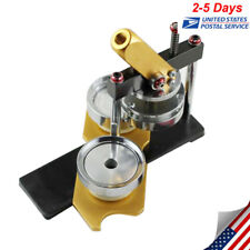 Good Button Maker Badge Punch Press Machine Circle Cutter Metal Punch Tool