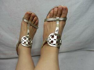 Tory Burch Mini Miller Wedge  Sandal 7 M