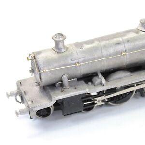 Vintage white metal kit built steam locomotive model railway train 4-6-0 #7