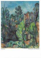 Postcard! Cezanne - Steinbruch von Bibémus