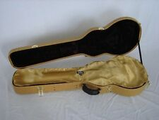 "GOLD ""AxeShield HD"" Satin Protection Shroud ATTACHES To Gibson/Epi Les Paul Case"