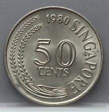 Singapore - 50 Cents 1980 - KM# 5