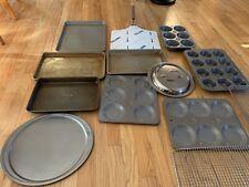 Kitchen Cooking Baking Restaurant Equipment Muffins Baking Pans 13 Pieces Lid