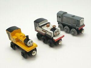 Thomas the Train Wooden Railway Fearless Freddie, Duncan & Dennis
