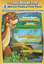 The Land Before Time XI-XIII: 3-Movie Family Fun Pack (DVD, 2015, 2-Disc Set,...