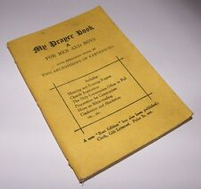 Wartime/Vintage Book - My Prayer Book for Men and Boys, 1943