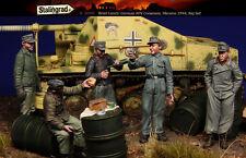 Escala 1/35 De Resina Figura Kit ~ Ww2 German Afv tripulación, gran Set 5 Figuras