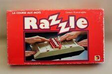 Jeu de société ancien Razzle - La course aux mots - Miro-Meccano 1981