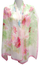 Chinese Apparel Chinese Silk Scarf - Birds & Flowers - Chinese Floral Scarf