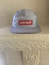 Supreme CDG  Comme des Garçons Red S/S 2012 Camp Cap 5 Panel Hat Deadstock