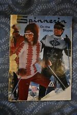 Spinnerin Vintage On the Slopes ski sweaters knit knitting patterns