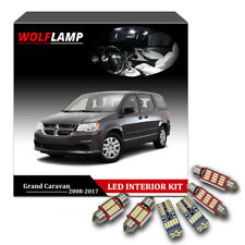 14Pcs White Canbus Kit LED Interior Car Lights For 2008-2017 Dodge Grand Caravan