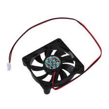 10x( Desktop PC Caso DC 12V 0.16A 60 mm 2 pin ventola di raffreddamento