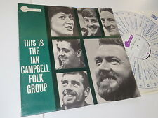 Ian Campbell-this is the... folk group Transatlantic ORIG. VINILE/COVER: ex OIS
