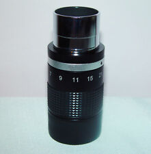 "High quality 1.25"" 7-21mm Zoom Eyepiece for TELESCOPE, Brand New Boxed"